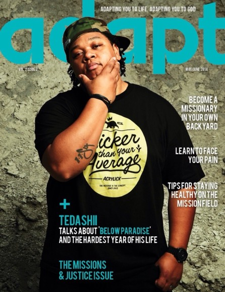Magazine: May/June 2014 Featuring Tedashii